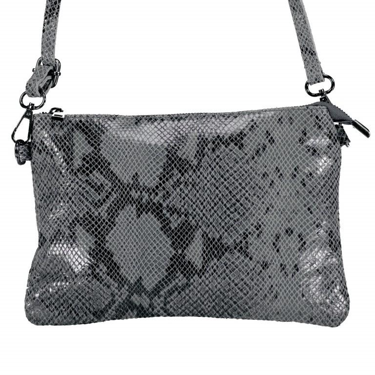 Umhängetasche / Clutch Snake, Farbe: grau, braun, Marke: Hausfelder, Abmessungen in cm: 27.0x18.0x1.0, Bild 1 von 1