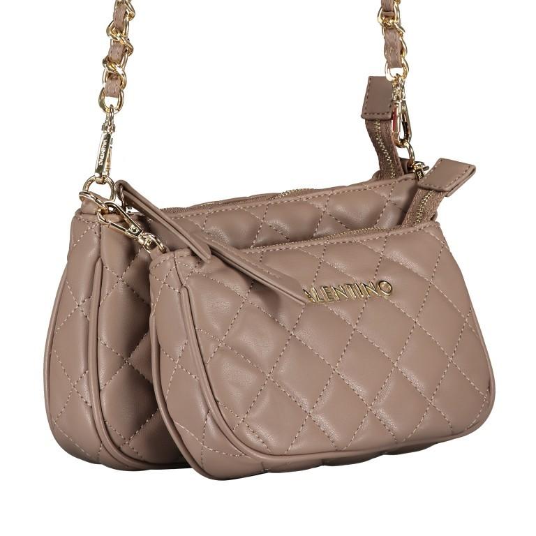 Umhängetasche Ocarina, Farbe: schwarz, taupe/khaki, beige, Marke: Valentino Bags, Abmessungen in cm: 24.5x14.5x5.0, Bild 2 von 13
