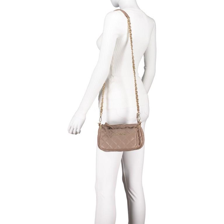Umhängetasche Ocarina, Farbe: schwarz, taupe/khaki, beige, Marke: Valentino Bags, Abmessungen in cm: 24.5x14.5x5.0, Bild 4 von 13