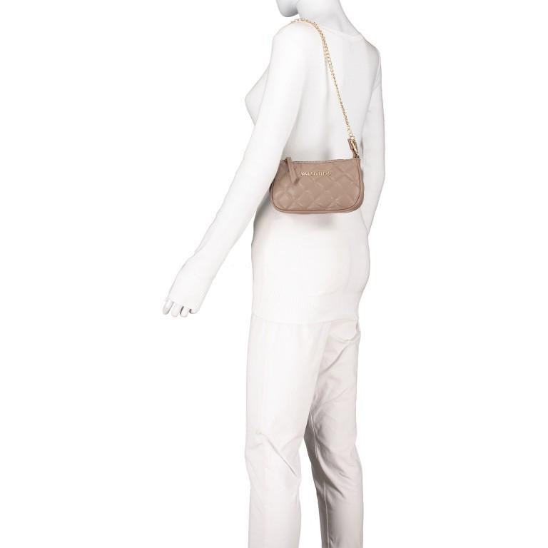 Umhängetasche Ocarina, Farbe: schwarz, taupe/khaki, beige, Marke: Valentino Bags, Abmessungen in cm: 24.5x14.5x5.0, Bild 7 von 13