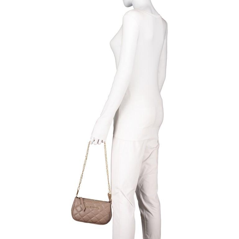 Umhängetasche Ocarina, Farbe: schwarz, taupe/khaki, beige, Marke: Valentino Bags, Abmessungen in cm: 24.5x14.5x5.0, Bild 8 von 13