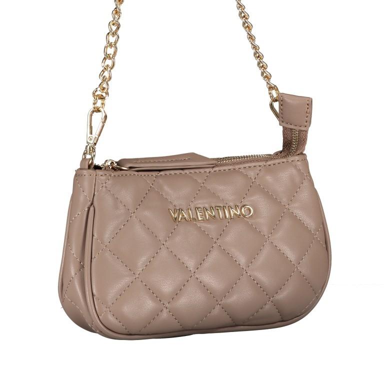 Umhängetasche Ocarina, Farbe: schwarz, taupe/khaki, beige, Marke: Valentino Bags, Abmessungen in cm: 24.5x14.5x5.0, Bild 12 von 13
