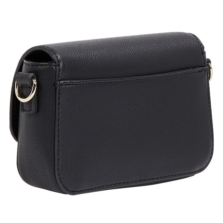 Umhängetasche Club Mini Crossover Bag, Farbe: schwarz, blau/petrol, Marke: Tommy Hilfiger, Abmessungen in cm: 17.0x11.5x4.5, Bild 2 von 2