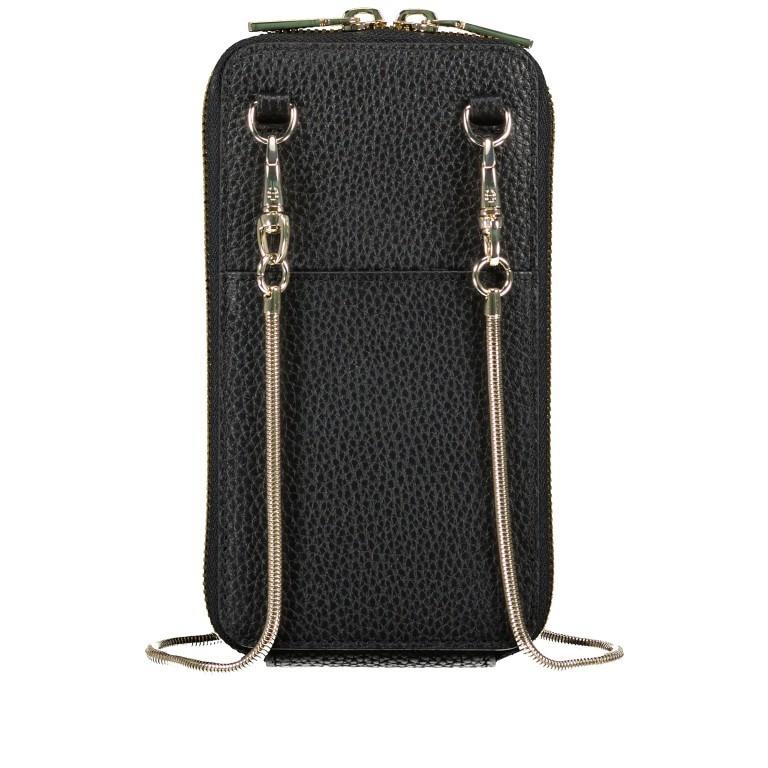 Handytasche Mobile Bag 163-139, Farbe: schwarz, grau, cognac, beige, Marke: AIGNER, Abmessungen in cm: 9.5x17.0x2.0, Bild 3 von 6