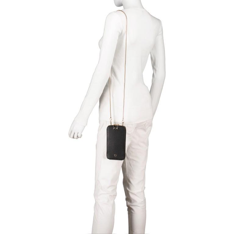 Handytasche Mobile Bag 163-139, Farbe: schwarz, grau, cognac, beige, Marke: AIGNER, Abmessungen in cm: 9.5x17.0x2.0, Bild 4 von 6
