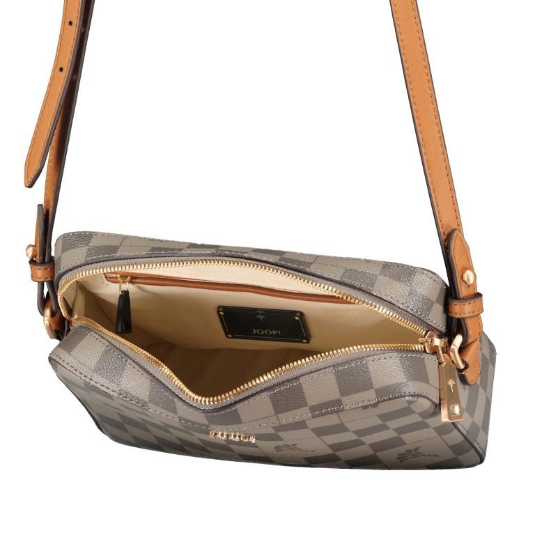 Umhängetasche Cortina Piazza Cloe SHZ, Farbe: grau, blau/petrol, braun, beige, Marke: Joop!, Abmessungen in cm:  22.0x16.0x6.0, Bild 6 von 6