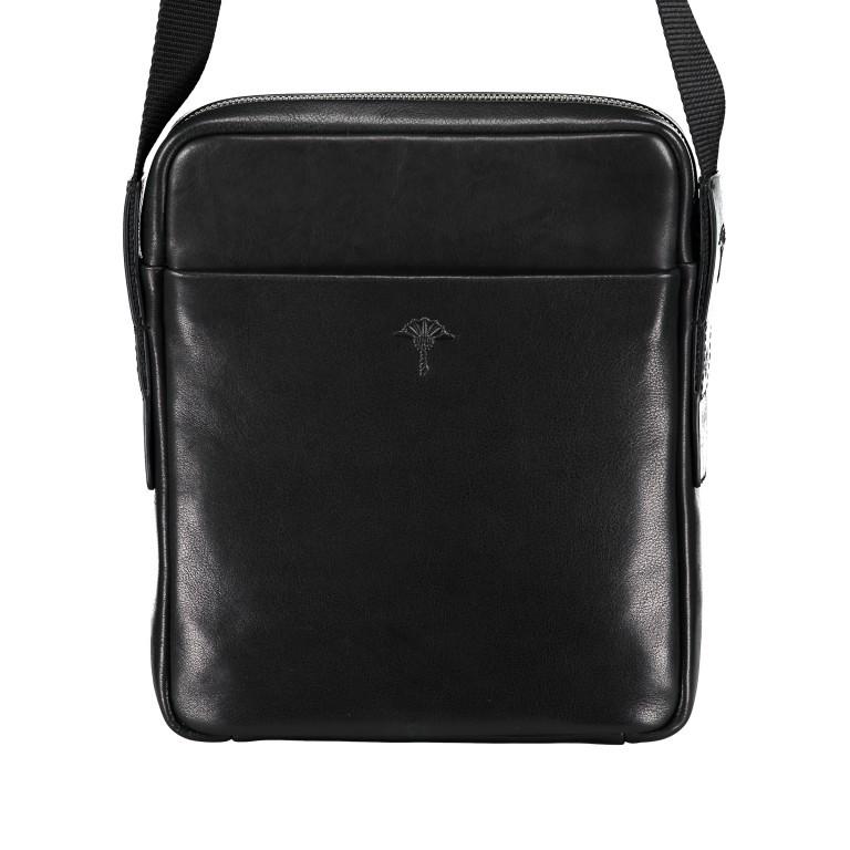 Umhängetasche Novara Remus XSVZ, Farbe: schwarz, braun, Marke: Joop!, Abmessungen in cm: 21.0x25.5x4.5, Bild 3 von 6