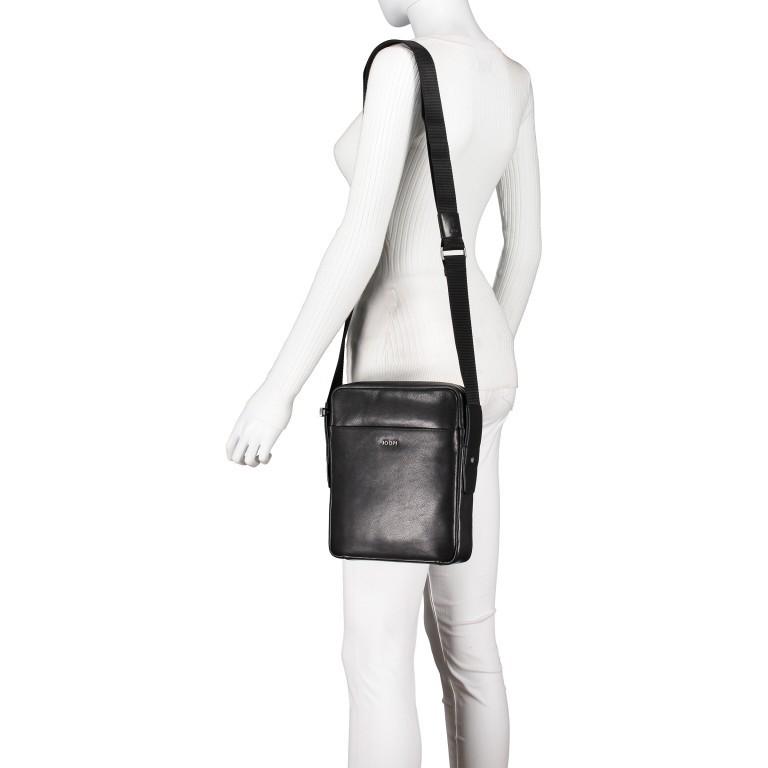 Umhängetasche Novara Remus XSVZ, Farbe: schwarz, braun, Marke: Joop!, Abmessungen in cm: 21.0x25.5x4.5, Bild 4 von 6
