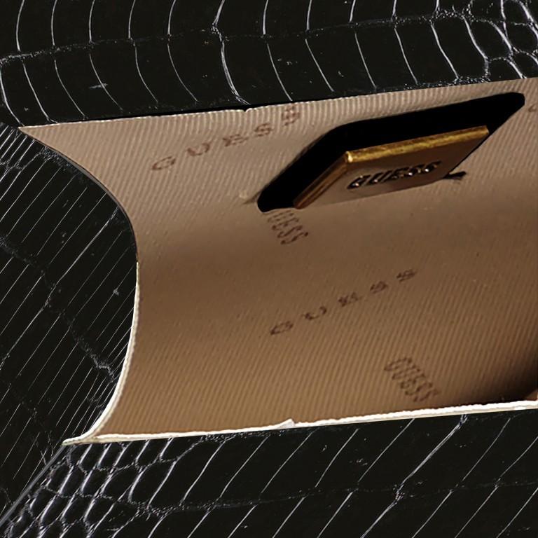 Umhängetasche Corily, Farbe: schwarz, cognac, beige, Marke: Guess, Abmessungen in cm: 19.0x16.0x7.0, Bild 7 von 7