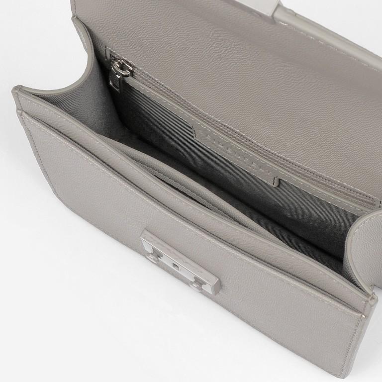 Umhängetasche Roros Colour, Farbe: grau, beige, Marke: Seidenfelt, Abmessungen in cm: 21.0x16.5x6.5, Bild 6 von 8
