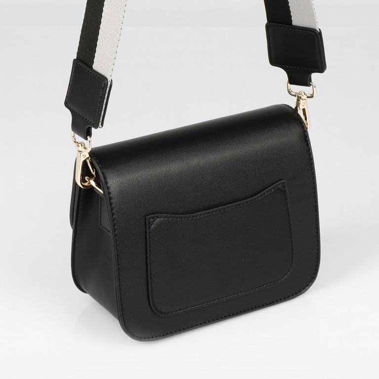 Umhängetasche Trosa, Farbe: schwarz, taupe/khaki, beige, Marke: Seidenfelt, Abmessungen in cm: 19.0x15.0x8.5, Bild 2 von 8