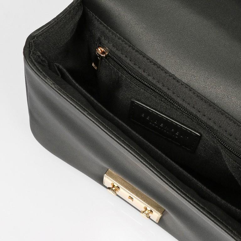 Umhängetasche Ystad, Farbe: schwarz, cognac, beige, Marke: Seidenfelt, Abmessungen in cm: 20.0x15.0x6.5, Bild 6 von 9