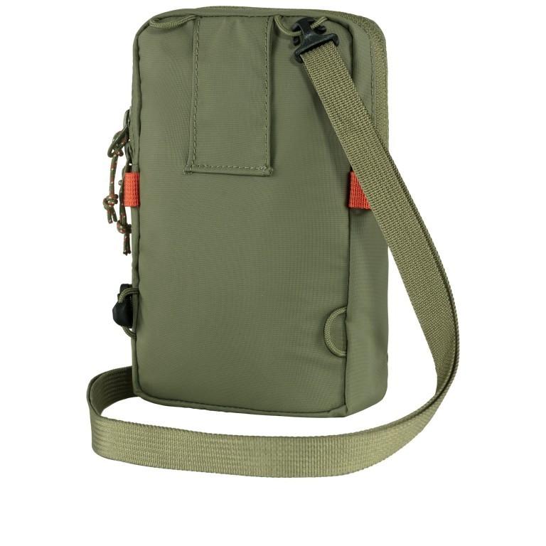 Umhängetasche / Gürteltasche High Coast  Pocket, Farbe: schwarz, grau, blau/petrol, taupe/khaki, grün/oliv, orange, gelb, Marke: Fjällräven, Bild 3 von 12