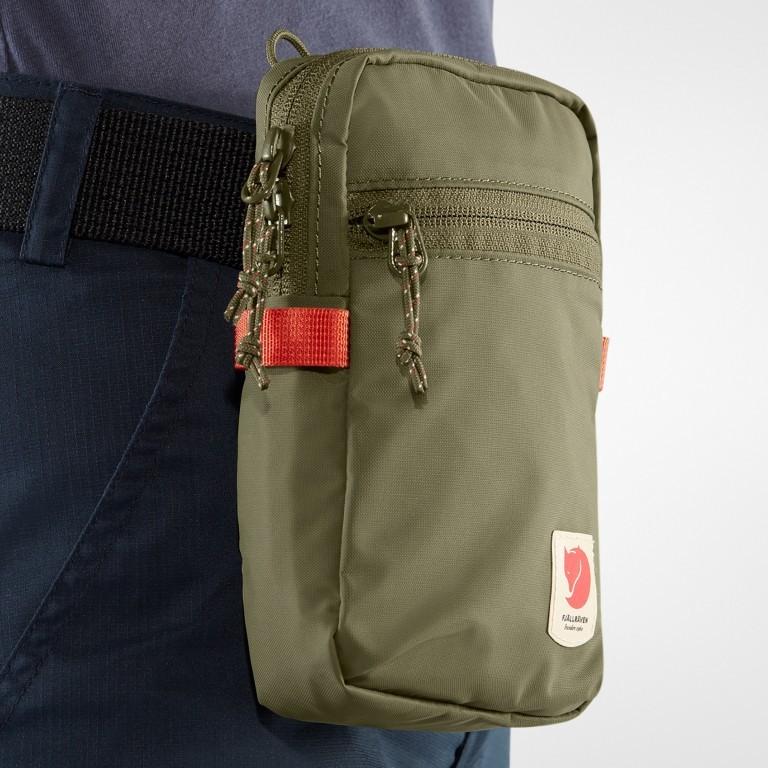 Umhängetasche / Gürteltasche High Coast  Pocket, Farbe: schwarz, grau, blau/petrol, taupe/khaki, grün/oliv, orange, gelb, Marke: Fjällräven, Bild 8 von 12