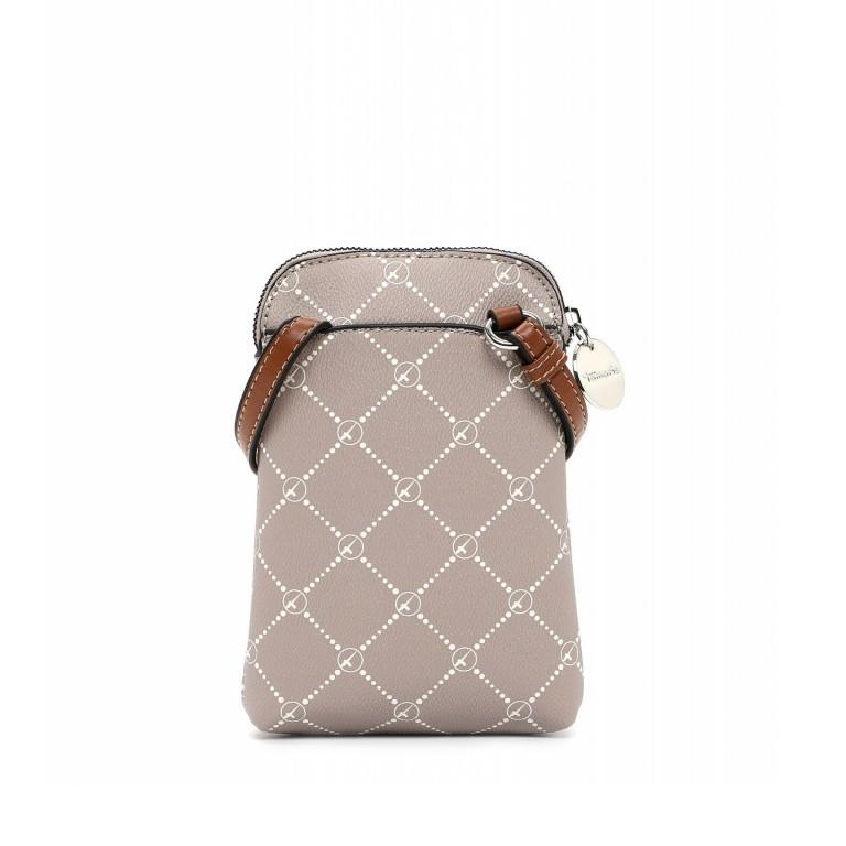 Handytasche Anastasia, Farbe: schwarz, braun, taupe/khaki, Marke: Tamaris, Abmessungen in cm: 13.5x20.0x3.5, Bild 3 von 5