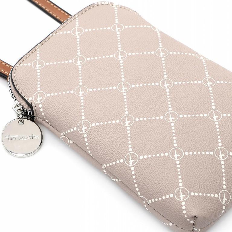Handytasche Anastasia, Farbe: schwarz, braun, taupe/khaki, Marke: Tamaris, Abmessungen in cm: 13.5x20.0x3.5, Bild 5 von 5