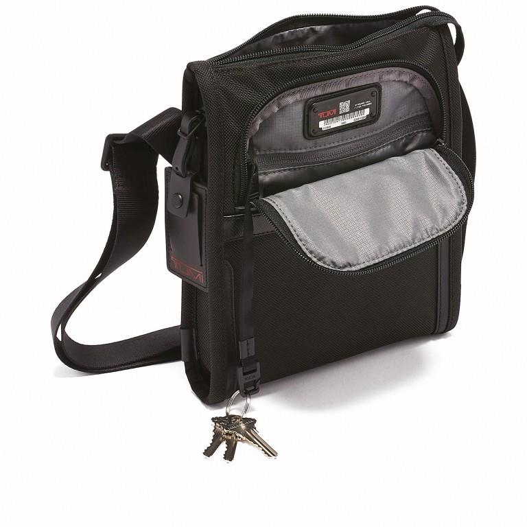 Umhängetasche Alpha 3 Pocket Bag Small Black, Farbe: schwarz, Marke: Tumi, EAN: 0742315477855, Abmessungen in cm: 20.5x24.0x3.7, Bild 5 von 5