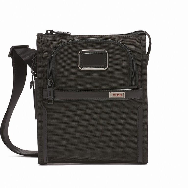 Umhängetasche Alpha 3 Pocket Bag Small Black, Farbe: schwarz, Marke: Tumi, EAN: 0742315477855, Abmessungen in cm: 20.5x24.0x3.7, Bild 1 von 5