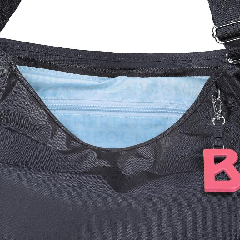 Umhängetasche Verbier Irma, Farbe: schwarz, grau, blau/petrol, taupe/khaki, Marke: Bogner, Abmessungen in cm: 28.0x26.0x11.5, Bild 8 von 8