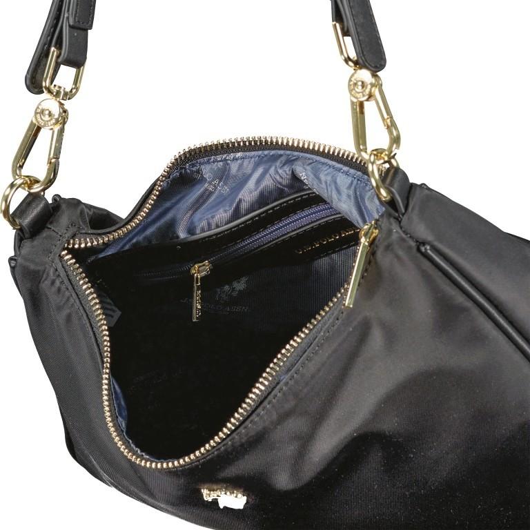 Umhängetasche Houston, Farbe: schwarz, blau/petrol, beige, Marke: U.S. Polo Assn., Abmessungen in cm: 30.0x20.0x8.0, Bild 8 von 8