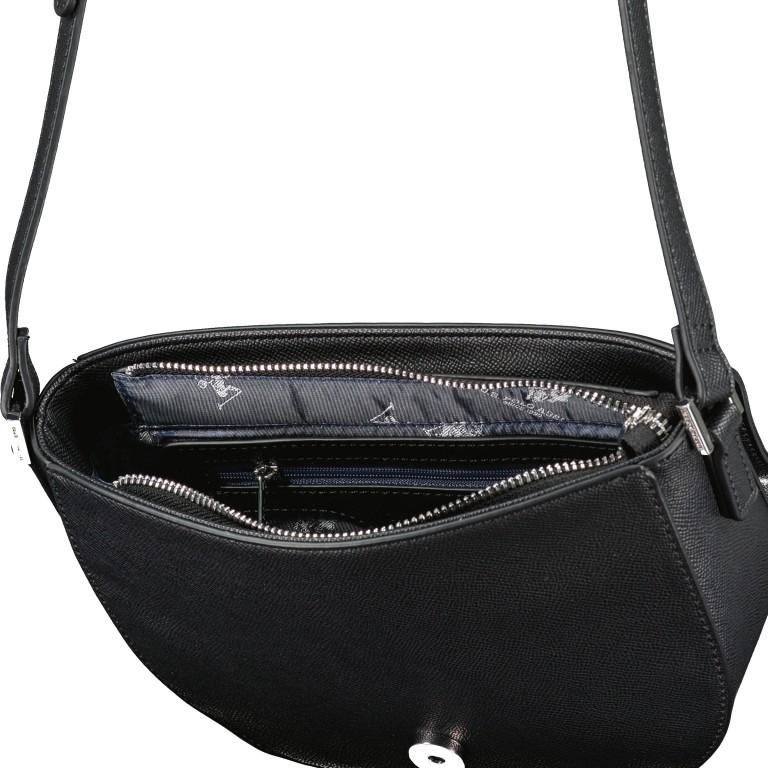 Umhängetasche Jones Black, Farbe: schwarz, Marke: U.S. Polo Assn., EAN: 8052792839155, Abmessungen in cm: 21.0x20.0x6.0, Bild 6 von 6