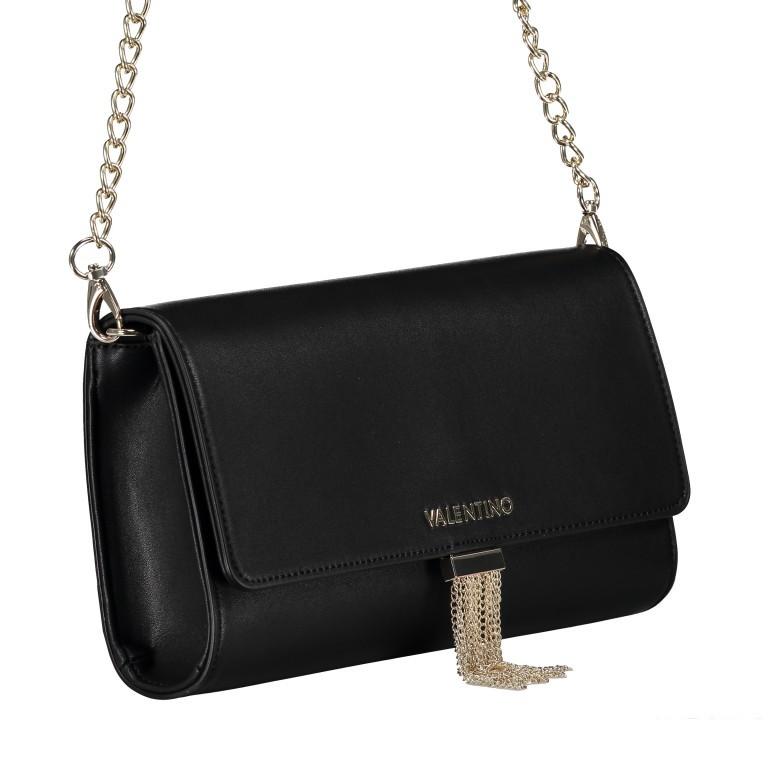 Umhängetasche Piccadilly, Farbe: schwarz, rosa/pink, weiß, metallic, Marke: Valentino Bags, Abmessungen in cm: 26.0x15.5x6.0, Bild 2 von 7