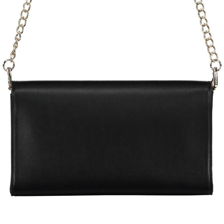 Umhängetasche Piccadilly, Farbe: schwarz, rosa/pink, weiß, metallic, Marke: Valentino Bags, Abmessungen in cm: 26.0x15.5x6.0, Bild 3 von 7