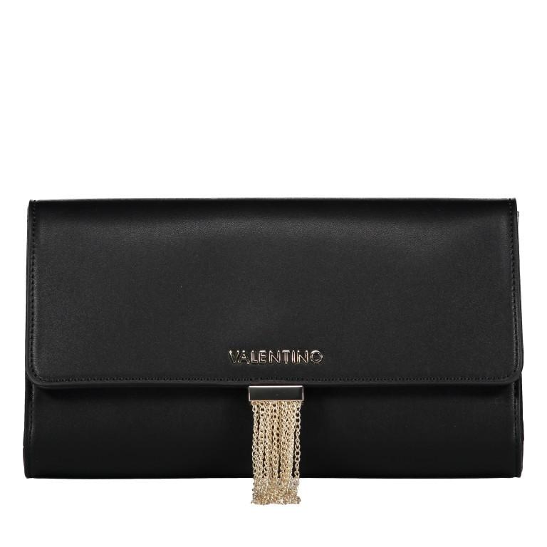 Umhängetasche Piccadilly, Farbe: schwarz, rosa/pink, weiß, metallic, Marke: Valentino Bags, Abmessungen in cm: 26.0x15.5x6.0, Bild 7 von 7