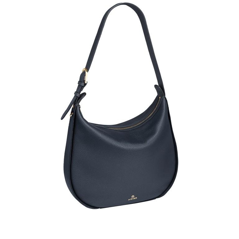 Beuteltasche Ivy M 136-759, Farbe: schwarz, blau/petrol, braun, cognac, beige, Marke: AIGNER, Abmessungen in cm: 36.0x35.0x10.0, Bild 2 von 7