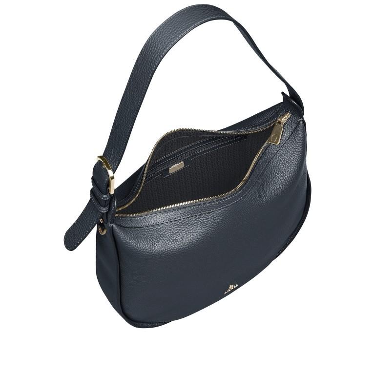 Beuteltasche Ivy M 136-759, Farbe: schwarz, blau/petrol, braun, cognac, beige, Marke: AIGNER, Abmessungen in cm: 36.0x35.0x10.0, Bild 7 von 7