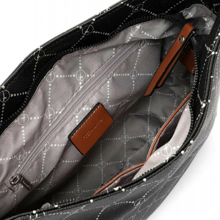 Beuteltasche Anastasia, Farbe: schwarz, grau, blau/petrol, braun, taupe/khaki, beige, Marke: Tamaris, Abmessungen in cm: 32.0x24.0x11.0, Bild 4 von 5