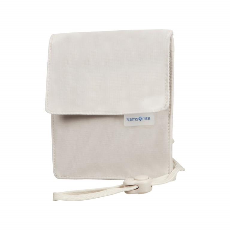 Brustbeutel Packing Accessories Neck Pouch mit RFID-Schutz Beige, Farbe: beige, Marke: Samsonite, EAN: 5414847954610, Abmessungen in cm: 12.0x15.0, Bild 1 von 1