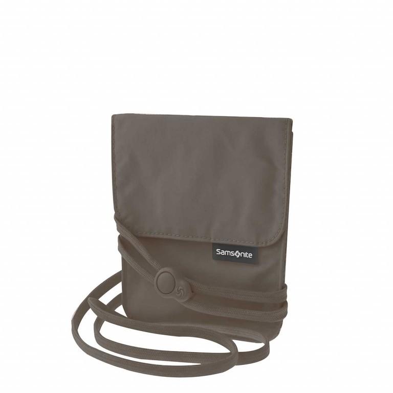Brustbeutel Packing Accessories Neck Pouch mit RFID-Schutz, Farbe: anthrazit, beige, Marke: Samsonite, Bild 1 von 1