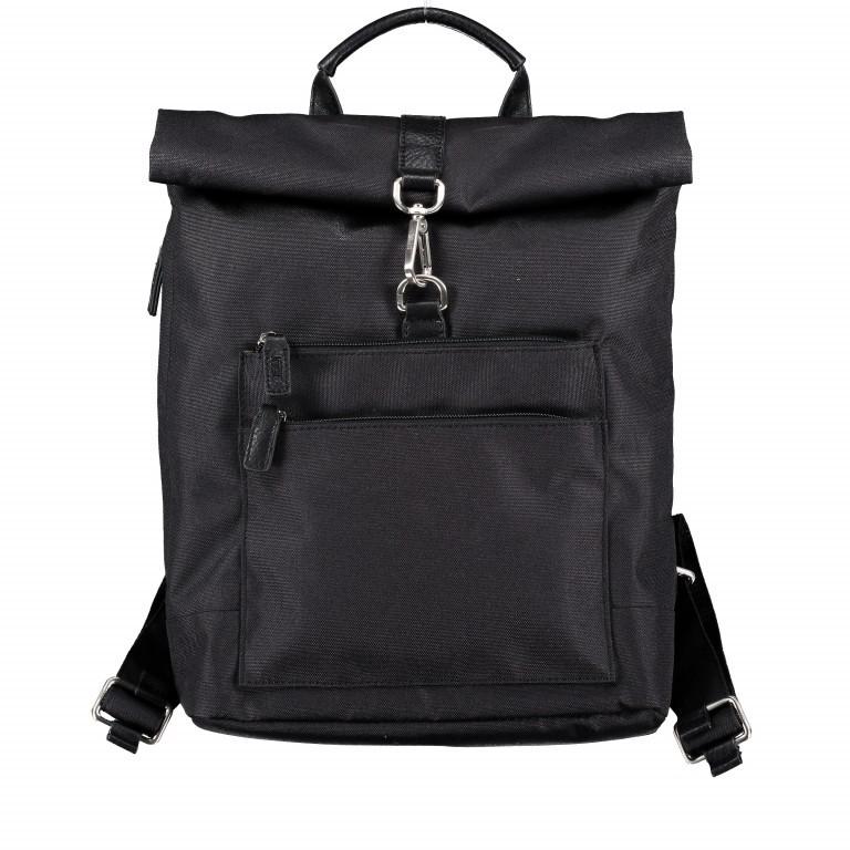 Rucksack Bergen Rolltop, Farbe: schwarz, grau, taupe/khaki, Marke: Jost, Abmessungen in cm: 30.0x35.0x9.0, Bild 1 von 1
