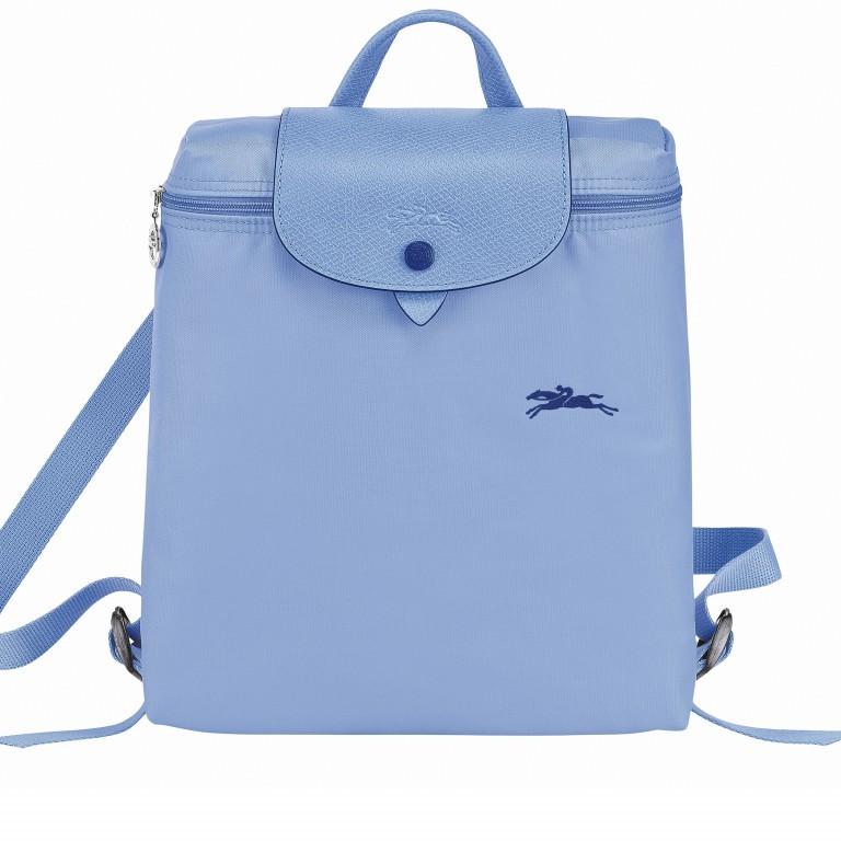 Rucksack Le Pliage Club Rucksack, Farbe: blau/petrol, taupe/khaki, rot/weinrot, orange, gelb, beige, Marke: Longchamp, Abmessungen in cm: 26.0x28.0x10.0, Bild 1 von 1