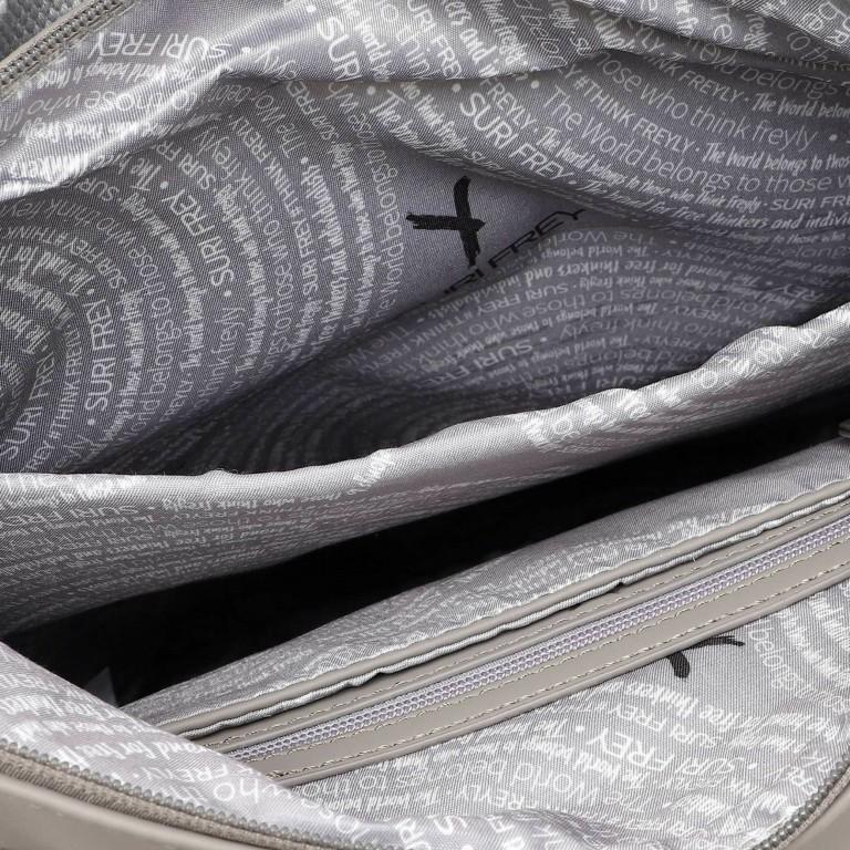 Rucksack Jessy 18003, Farbe: schwarz, grau, blau/petrol, taupe/khaki, grün/oliv, rosa/pink, beige, Marke: Suri Frey, Bild 6 von 7