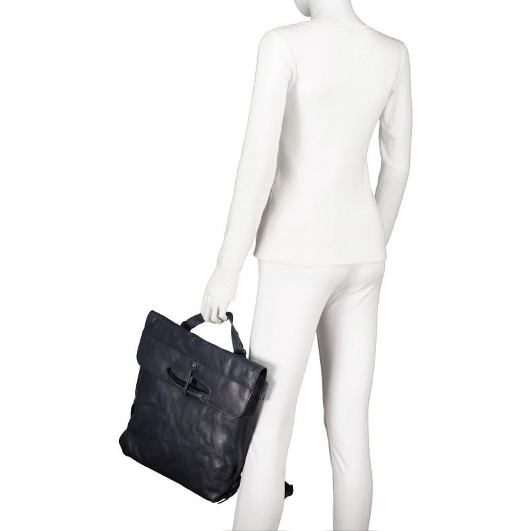 Rucksack Grandma's Luxury Club Mrs. Apple Strudel, Farbe: schwarz, blau/petrol, cognac, taupe/khaki, rot/weinrot, Marke: Aunts & Uncles, Abmessungen in cm: 28.0x36.0x9.0, Bild 6 von 13