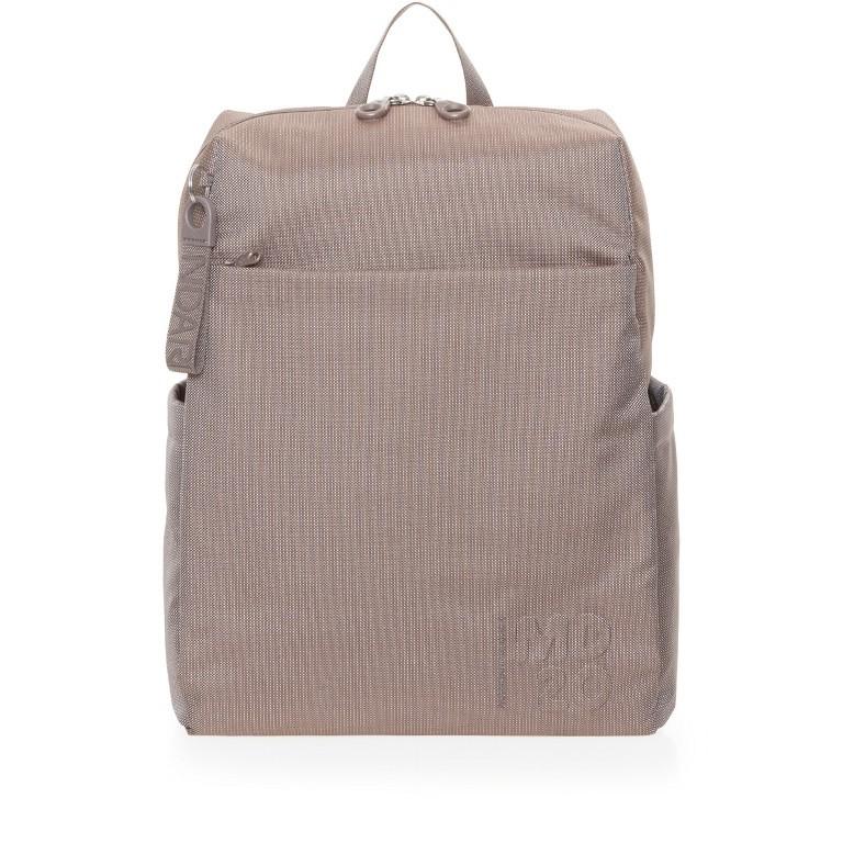 Rucksack MD20 QMT15, Farbe: grau, taupe/khaki, Marke: Mandarina Duck, Abmessungen in cm: 30.5x40.0x14.0, Bild 1 von 6