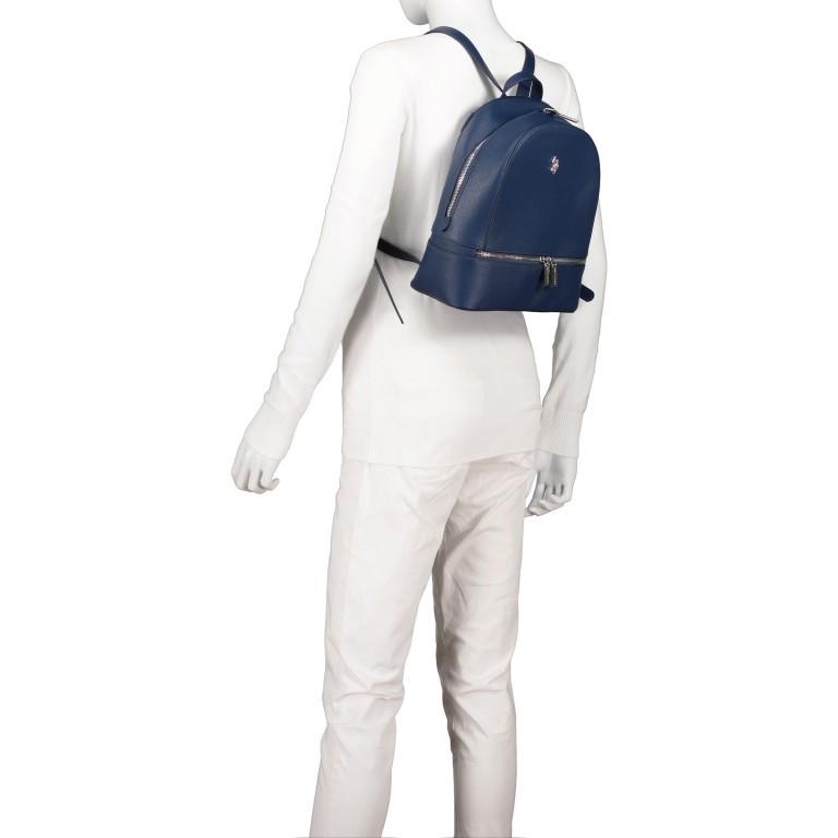 Rucksack Jones Navy, Farbe: blau/petrol, Marke: U.S. Polo Assn., EAN: 8052792910755, Abmessungen in cm: 25.0x29.0x12.0, Bild 4 von 6