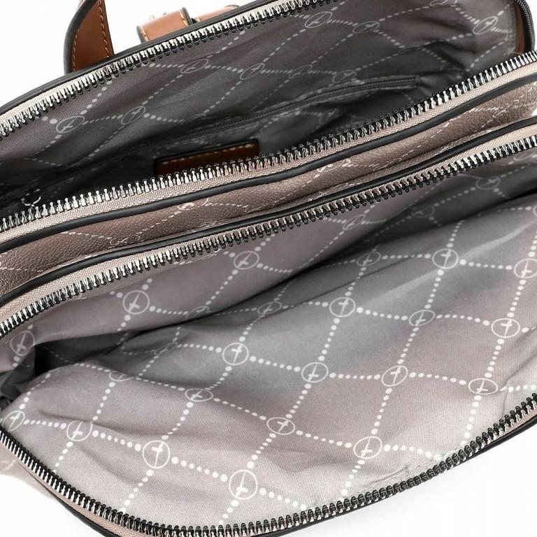 Rucksack Anastasia, Farbe: schwarz, braun, taupe/khaki, Marke: Tamaris, Abmessungen in cm: 26.0x31.0x15.0, Bild 4 von 5