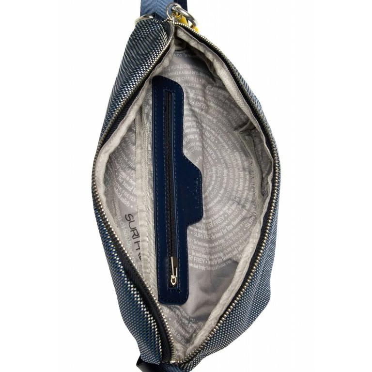Gürteltasche Marry 18016, Farbe: schwarz, grau, blau/petrol, beige, Marke: Suri Frey, Abmessungen in cm: 26.0x17.0x2.0, Bild 8 von 12