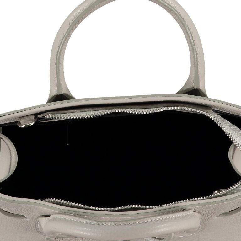 Handtasche Dollaro, Farbe: schwarz, grau, blau/petrol, braun, cognac, taupe/khaki, grün/oliv, rot/weinrot, orange, gelb, weiß, Marke: Hausfelder, Abmessungen in cm: 28.5x21.0x12.0, Bild 7 von 8