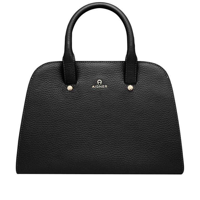 Handtasche Ivy 135-390, Farbe: schwarz, grau, blau/petrol, braun, cognac, beige, Marke: AIGNER, Abmessungen in cm: 29.0x21.0x12.5, Bild 1 von 7