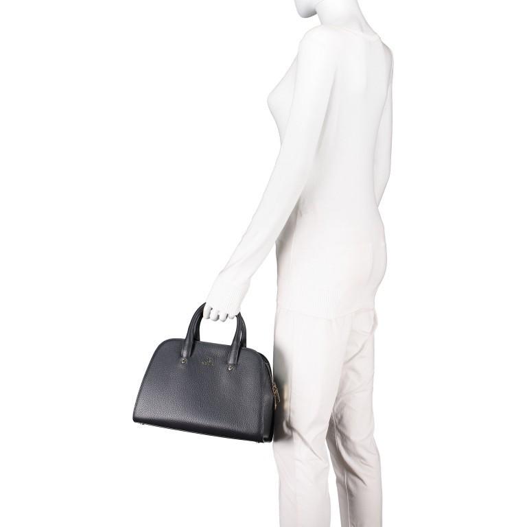 Handtasche Ivy 135-390, Farbe: schwarz, grau, blau/petrol, braun, cognac, beige, Marke: AIGNER, Abmessungen in cm: 29.0x21.0x12.5, Bild 4 von 7