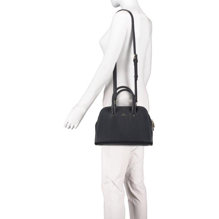 Handtasche Ivy 135-390, Farbe: schwarz, grau, blau/petrol, braun, cognac, beige, Marke: AIGNER, Abmessungen in cm: 29.0x21.0x12.5, Bild 5 von 7