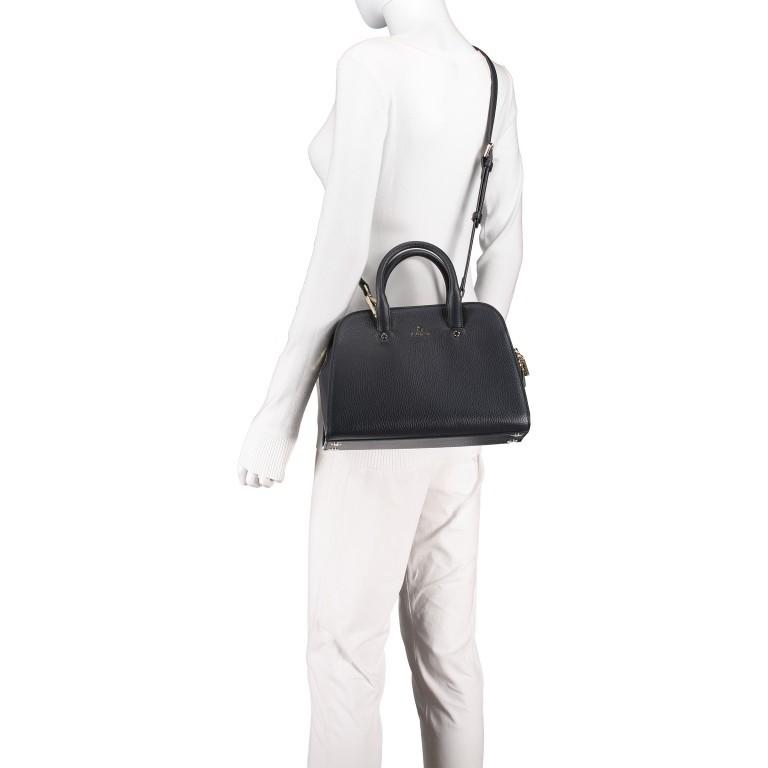 Handtasche Ivy 135-390, Farbe: schwarz, grau, blau/petrol, braun, cognac, beige, Marke: AIGNER, Abmessungen in cm: 29.0x21.0x12.5, Bild 6 von 7