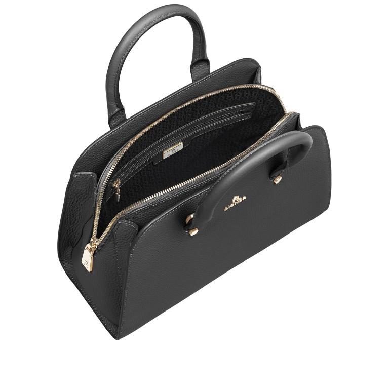 Handtasche Ivy 135-390, Farbe: schwarz, grau, blau/petrol, braun, cognac, beige, Marke: AIGNER, Abmessungen in cm: 29.0x21.0x12.5, Bild 7 von 7