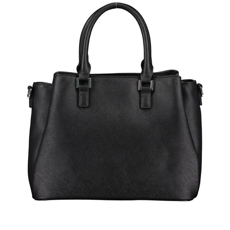 Handtasche Jones Black, Farbe: schwarz, Marke: U.S. Polo Assn., EAN: 8052792838974, Abmessungen in cm: 31.0x24.5x13.0, Bild 3 von 10