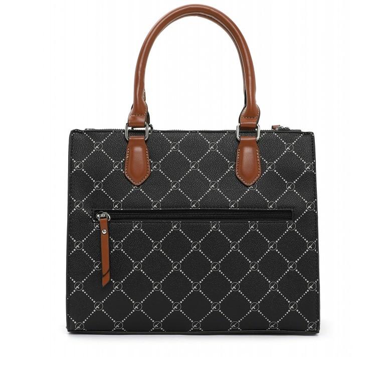 Shopper Anastasia, Farbe: schwarz, grau, blau/petrol, taupe/khaki, beige, Marke: Tamaris, Abmessungen in cm: 29.5x22.5x14.0, Bild 3 von 5