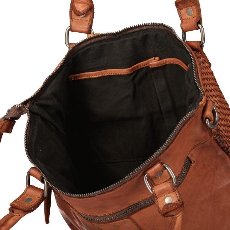 Shopper Soft-Weaving Soraya SW.10500, Farbe: anthrazit, braun, cognac, orange, Marke: Harbour 2nd, Abmessungen in cm: 33.5x26.0x12.5, Bild 9 von 10